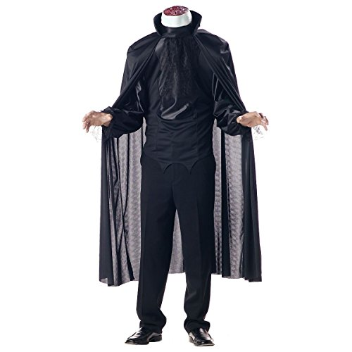 [GSG Headless Horseman Costume The Legend of Sleepy Hollow Halloween Fancy Dress] (Legend Of Sleepy Hollow Costumes)