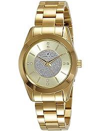 Daniel Klein Analog Gold Dial Men's Watch - DK10859-7