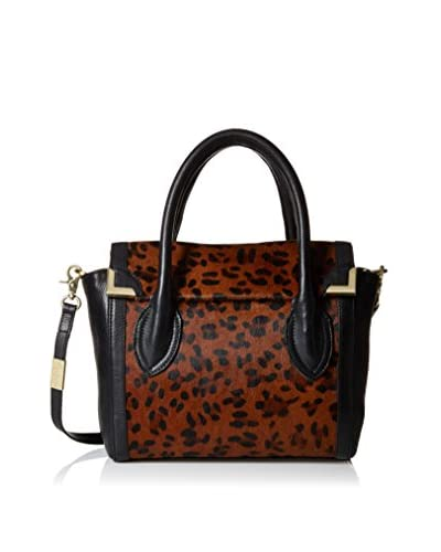 Foley + Corinna Women's Frankie Top Handle Satchel, Leopard Haircalf