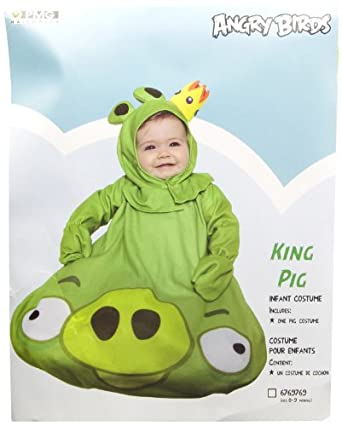 Paper Magic Green King Pig Infant Costume