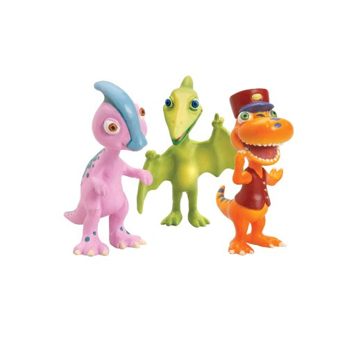 Learning Curve Dinosaur Train Collectible Dinosaur 3 Pack - My Friends Have Beaks And Bills: Mr Pteranodon, Perry And Conductor Buddy