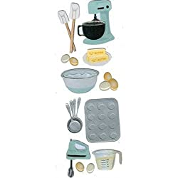 Martha Stewart Crafts Baking Mixer Dimensional Stickers