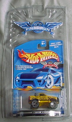Hot Wheels Final Run 2001 Gulch Stepper #3 3/12 1:64 Scale