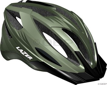 Buy Low Price Lazer Clash Helmet with Visor: Khaki Green (BLU2005666084)