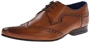 Ted Baker Men's Hann Oxford,Tan Leather,10.5 M US