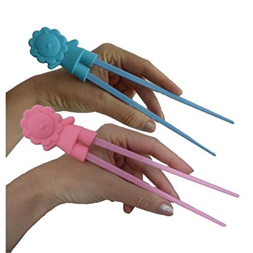 unique-boutique-baguettes-lion-pour-debutants-enfants-seniors-sticks-lowe-hellblau-rosa-zwei