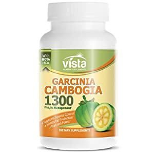 Garcinia Cambogia Extract with HCA - Weight Loss Benefits - 1,000 MG Per Serving 60 Capsules- Featured on the Show - Supports Appetite Control - Inhibits Fat Production - Formulated using Nature's perfect diet ingredient: Garcinia Cambogia