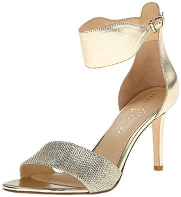 Ivanka Trump Women's Itgelana3 Dress Sandal,Gold,6 M US