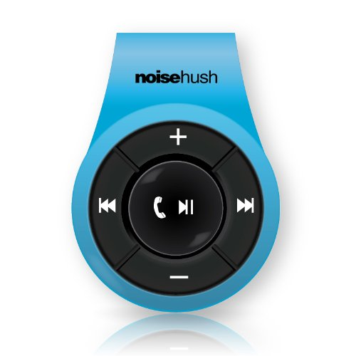 Noisehush Ns560-11976 Noisehush Ns560 Clip-On Bluetooth Stereo Headset - Blue - Belt Clip - Retail Packaging - Blue