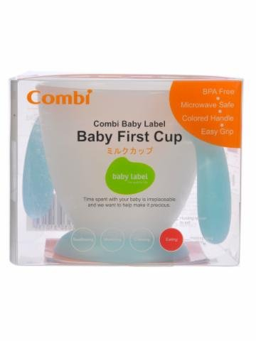 Combi Baby Label Baby First Cup front-869864