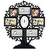 Collage Photo Frame With Clock - B01KXICJHU