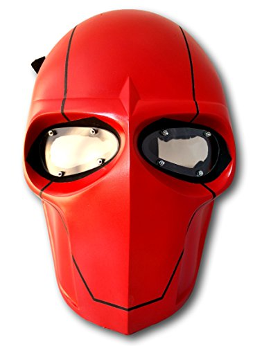 Outdoor Master Redhood Mask Airsoft/bb Gun/cs Full Face Protect Mask (Zombie Face Off Target Holder compare prices)