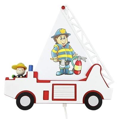 Elobra Wandleuchte Feuerwehrauto, 1 flammig ELO-125816