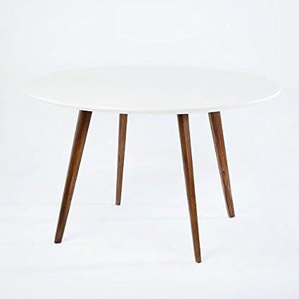 Table à manger 120DM Marron/blanco-colección Gamma