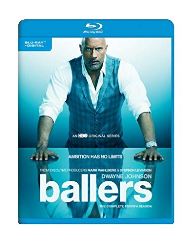 Blu-ray : Ballers: The Complete Fourth Season (Limited Edition, Ultraviolet Digital Copy, Eco Amaray Case)
