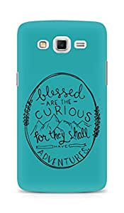 AMEZ Blessed are the curious Back Cover For Samsung Galaxy Grand Max