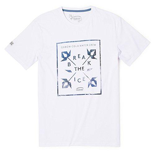 H2tekhos Oxbow-Maglietta a maniche corte da uomo, taglia: M (taglia del produttore: M)