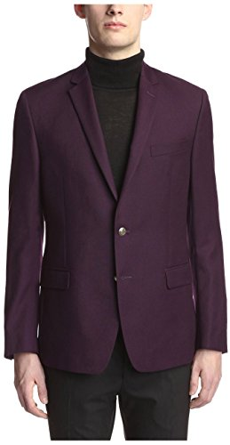Versace-Collection-Mens-Notch-Lapel-Sport-Coat-Purple-48R-EU38R-US