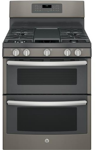 GE-JGB860EEJES-30-Slate-Gas-Sealed-Burner-Double-Oven-Range-Convection