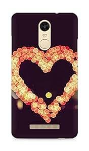 Amez designer printed 3d premium high quality back case cover for Xiaomi Redmi Note 3 (Heart Guardian)