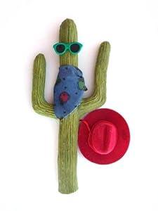 Cowboy Cactus Antenna Cover
