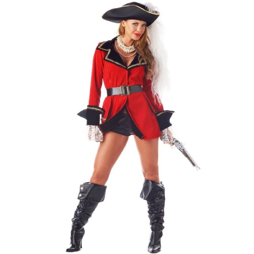 California Costumes Women  sc 1 st  Pirate Costume For Halloween & Pirate Costume For Halloween: California Costumes Womenu0027s Captainu0027S ...