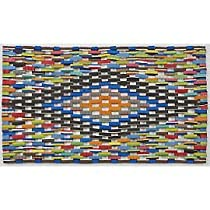 Doormat Gift Shop - Colorful Handmade Doormat Made from Recycled Flip Flops, 15