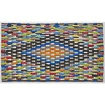 Doormat Gift Shop - Colorful Handmade Doormat Made from Recycled Flip Flops, 15