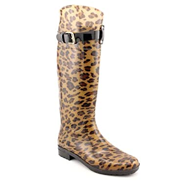 LAUREN by Ralph Lauren Rossalyn II Women's Rain Boot (Leopard, 9)