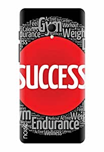 Noise Success Mantra Printed Cover for Panasonic P65 Flash