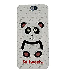 Teddy Bear 3D Hard Polycarbonate Designer Back Case Cover for HTC One A9