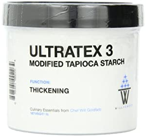 WillPowder Ultratex 3, Thickening Function, 16-Ounce Jar