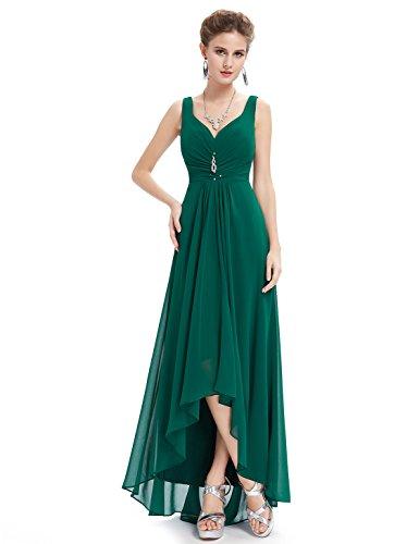 Ever-PrettyTM-Double-V-Neck-Rhinestones-Ruched-Bust-Hi-Lo-Evening-Dress-09983