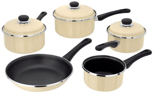 Judge Vanilla Induction 5 Piece Saucepan Set