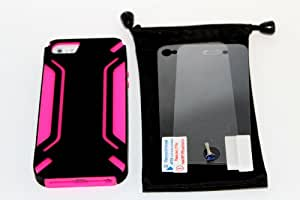 Layer Armored Hybrid Cover Case with Inner Soft Silicone Chasis