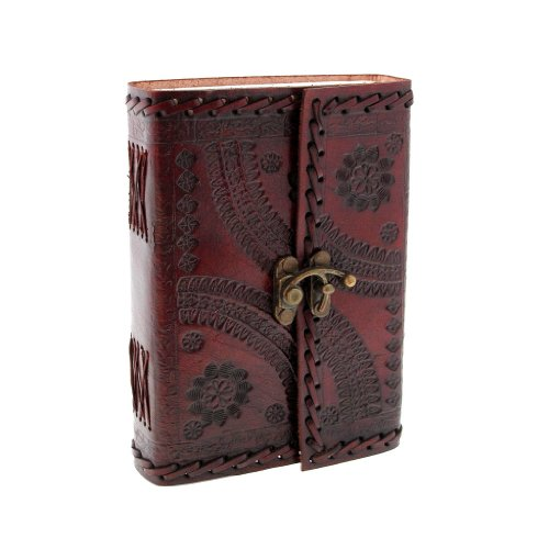 indra-m-journal-en-cuir-avec-fermeture-brode-et-estampe-110-x-160-mm