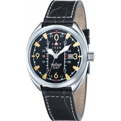 CCCP CP-7013-01 Mens Aviator Yak-15 Black Watch