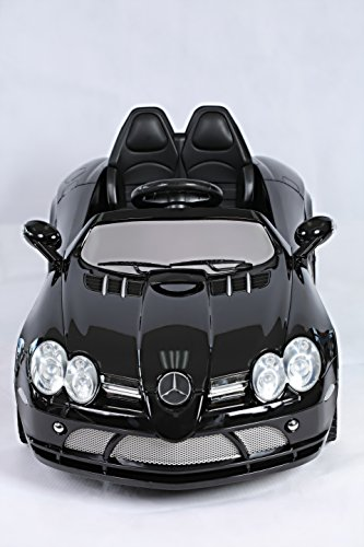 Licensed Mercedes Slr Mclaren With Remote Electric Ride On Car 12V Battery 2 Motors Limited Edition New 2015