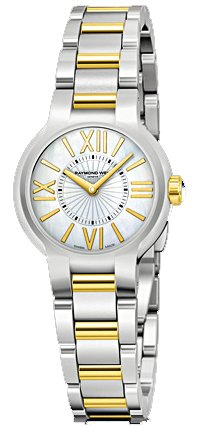 Raymond Weil Women's 5927-STP-00907 Noemia Two tone Roman Numerals Dial Watch