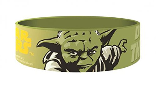 Star Wars Braccialetto gomma Yoda Pyramid International