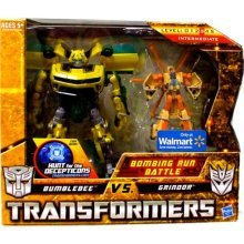 Transformers Bumblebee And Grindor fidget its антистрессовая игрушка кубик transformers bumblebee