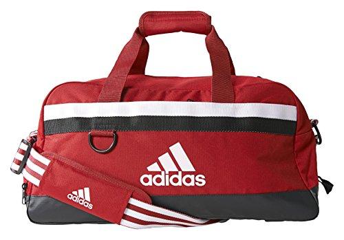 Adidas, Borsa Tiro Teambag, Rosso (Rot), 50 x 25 x 25 cm, 34 litri