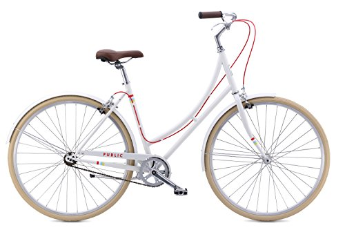 "Check Out This PUBLIC Bikes Women's C1 Dutch Style Step-Thru Single-Speed City Bike, 16""/Small,..."
