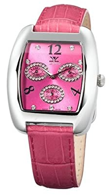 Le Vian Women's ZAG 37 Diamond Trio Pink Diamond Watch