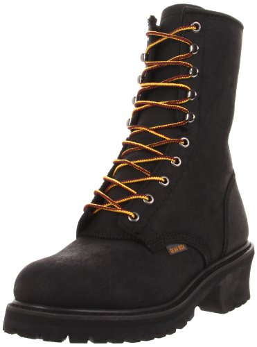 Gear Box Men's 8020 Work Boot,Black,6 EE US