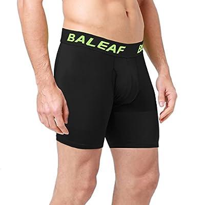 """Baleaf Men's 6"""" Sports Underwear Boxer Brief"""