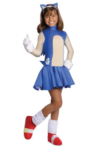 Sonic The Hedgehog Girls Sonic Costume