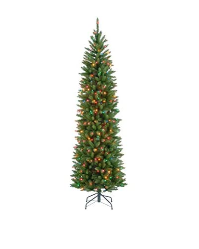 National Tree Company 7.5' Kingswood Fir Hinged Pencil Tree