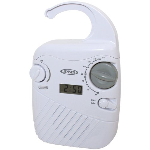 Jensen Jwm-130 Am/Fm Shower Radio