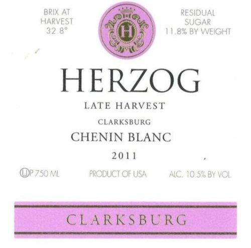 2011 Herzog Late Harvest Chenin Blanc 750 Ml